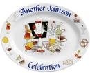 Anniverary/Wedding/Celebration Plates